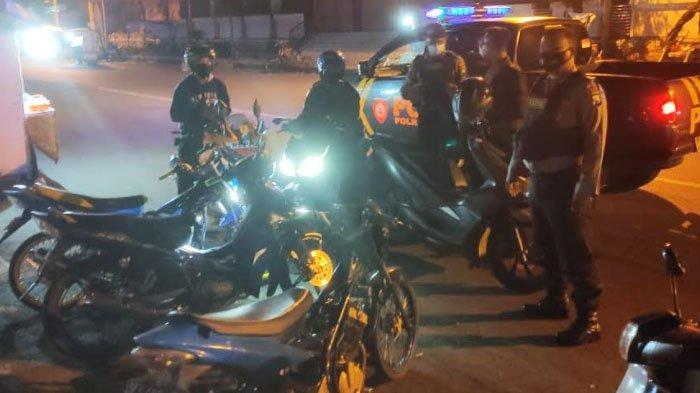 Belasan Pemuda Gresik Diciduk Polisi gara-gara Balap Liar jelang Sahur
