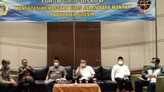 Hasil Focus Group Discussion soal Kemacetan Lalu Lintas di Manyar Gresik