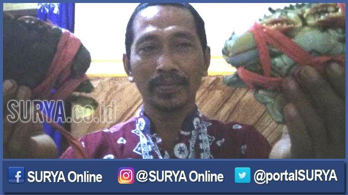 Menengok Desa Tanjangawan Ujungpangkah Penghasil Kepiting Ekspor, Sekali Panen 5 Kuintal Sehari