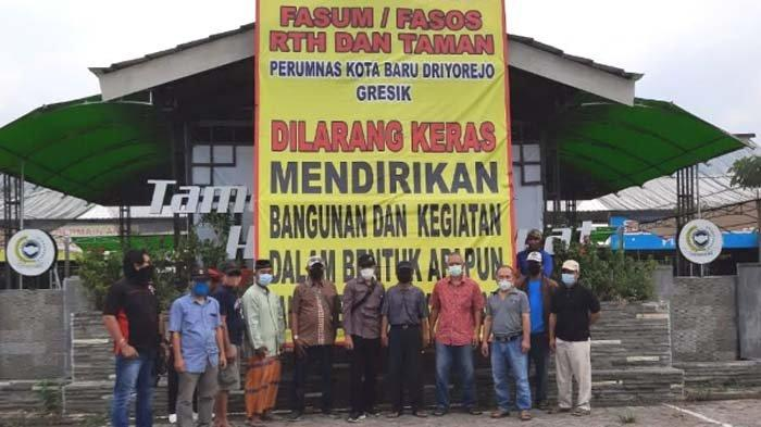 Kembali Tuntut Fasum dan Fasos, Warga Perumnas Driyorejo Lapor Sekda dan DPRD Gresik