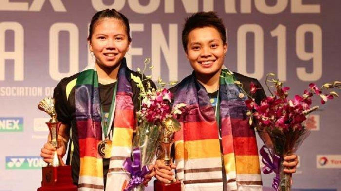 Biodata Greysia Polii dan Apriyani Rahayu, Pebulu Tangkis Ganda Putri Juara Thailand Open 2021