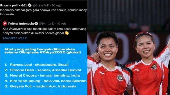 Greysia Polii Masuk Daftar Atlet Populer, Satu-satunya dari Indonesia Berkat Juarai Olimpiade Tokyo