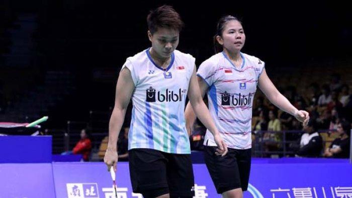 UPDATE Hasil BWF World Tour Final Jumat 29 Januari Greysia/Apriyani Kalah, ini Live Streaming TVRI