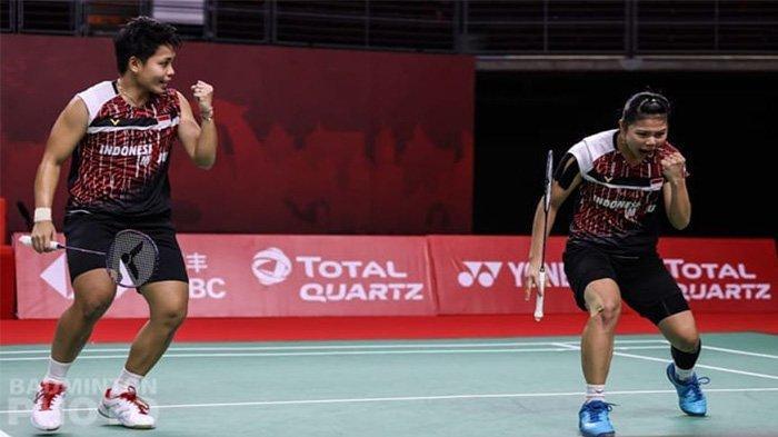 Hasil dan Klasemen BWF World Tour Finals: 3 Perwakilan Indonesia Menang, Greysia/Apriyani di Puncak