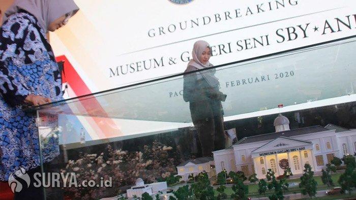 CT Bersama Trans Corp Kontribusi Bangun Museum dan Galeri Seni SBY-Ani di Pacitan
