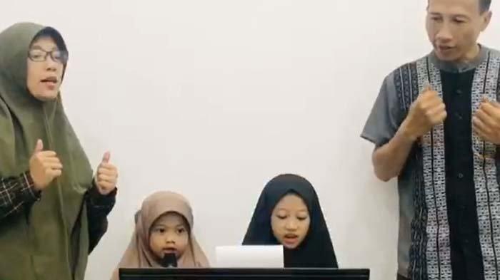 Pondok Ramadan SD Al Falah Darussalam Waru Sidoarjo: Buat Video Gubah Lagu selama Belajar di Rumah