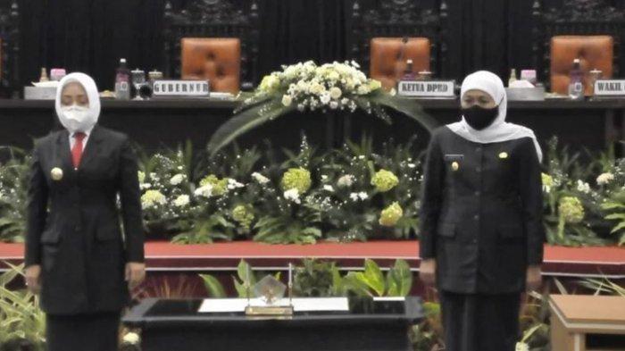 Gubernur Khofifah Berikan Pekerjaan Rumah bagi Bupati Perempuan Pertama Bumi Majapahit