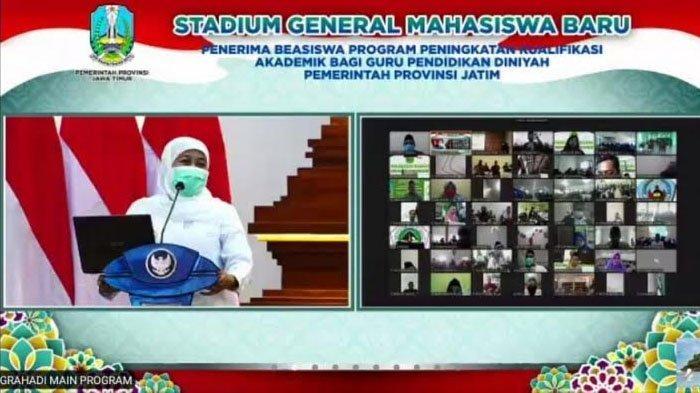 Realisasikan Jatim Berkah, Gubernur Beri Beasiswa 970 Guru Diniyah