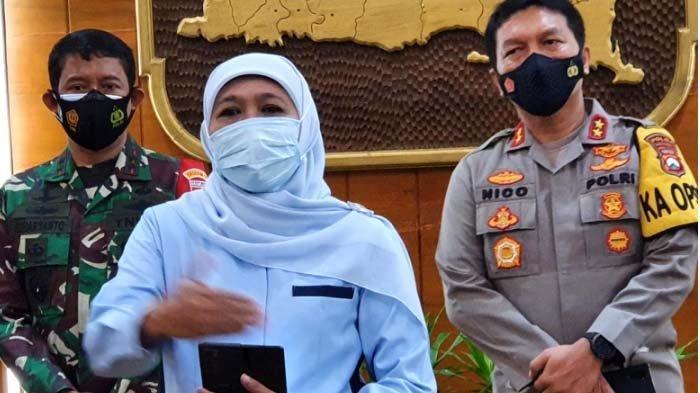 Khofifah Pastikan PPKM Mikro di Jatim Diperpanjang hingga 8 Maret, Masyarakat Diminta Tetap Disiplin