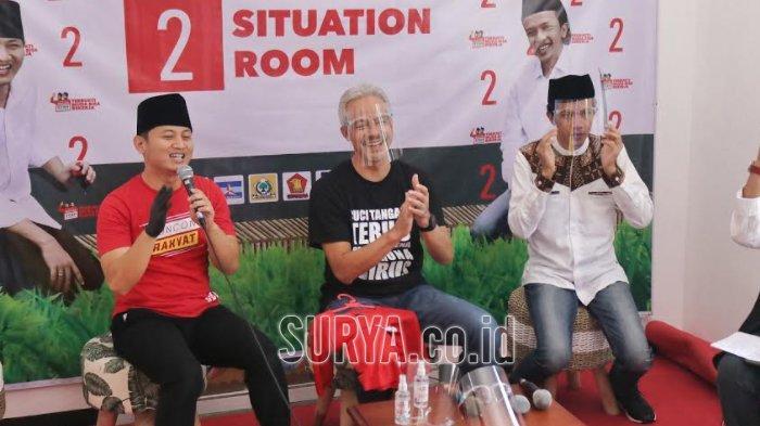 Ikut Kampanye di Kabupaten Trenggalek, Ganjar Pranowo Puji Mas Ipin Punya Ide Original