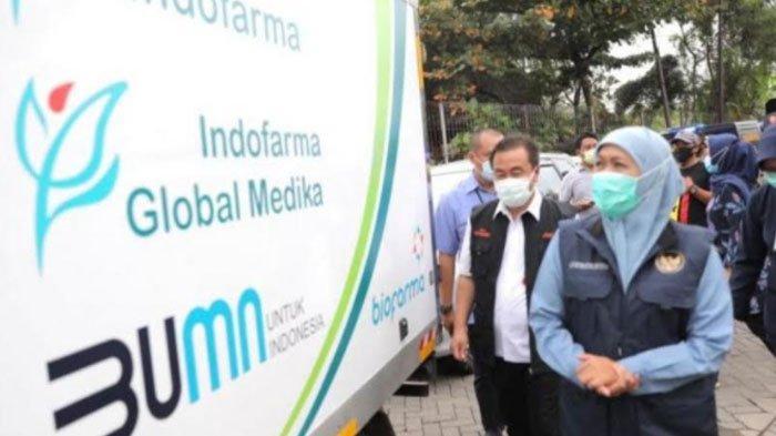 914.200 Dosis Vaksin Covid-19 Tahap Dua untuk 38 Kab/Kota di Jatim Mulai Didistribusikan