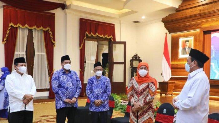 Gubernur Khofifah Berangkatkan Kafilah Jatim untuk STQ Nasional di Maluku Utara