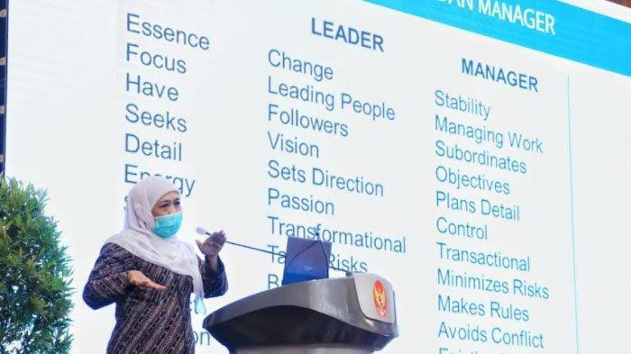 Gubernur Khofifah Minta ASN Jatim Ubah Budaya Kerja di Era Pandemi