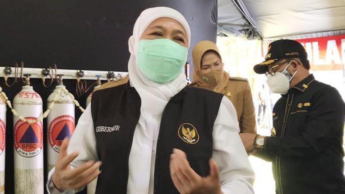 Gubernur Khofifah Menegaskan, Data Covid-19 Jawa Timur Lengkap dan Transparan
