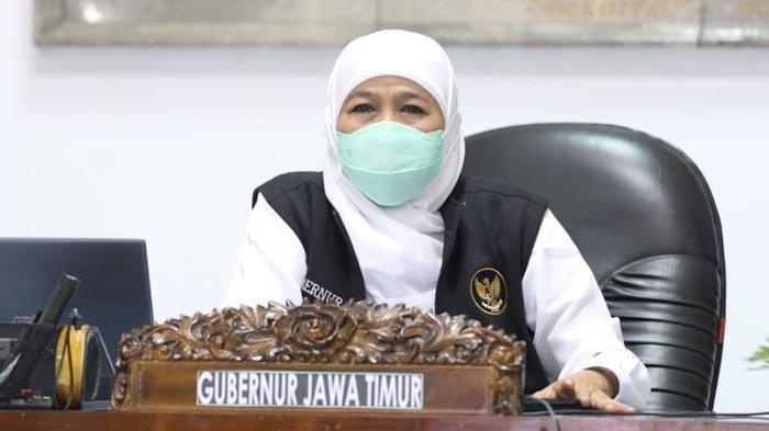 Siapkan PTM Terbatas, Gubernur Khofifah Minta Kepala Daerah Prioritaskan Vaksin untuk Pelajar