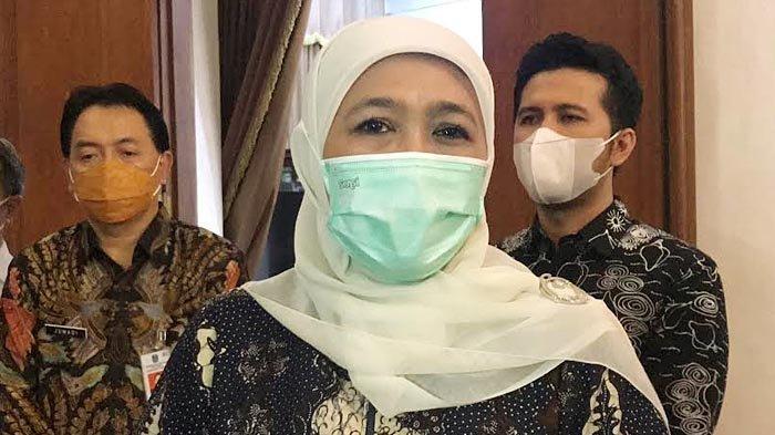Gubernur Khofifah Pastikan Pembelajaran Tatap Muka Mulai Juli 2021, Sudah 38 Persen Guru Ikut Vaksin