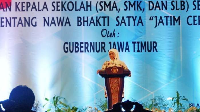 Jatim Kekurangan Guru Agama, Begini Solusi Gubernur Khofifah