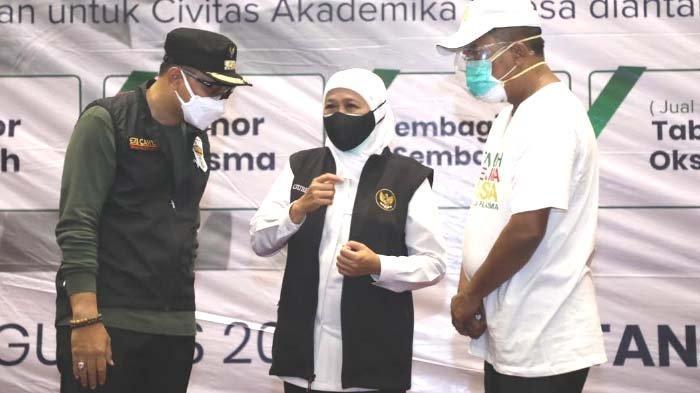 Gubernur Khofifah Sebut PPKM Level 4 Berhasil, Kasus Covid-19 di Jatim Melandai