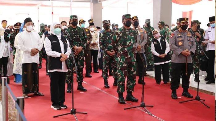 Panglima TNI dan Kapolri Gelar Vaksinasi Serentak untuk 37.149 Santri di Jawa Timur