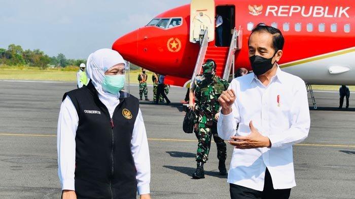 Khofifah Lapor ke Presiden Jokowi Soal Penanganan Covid-19 Serta Upaya Pertumbuhan Ekonomi di Jatim