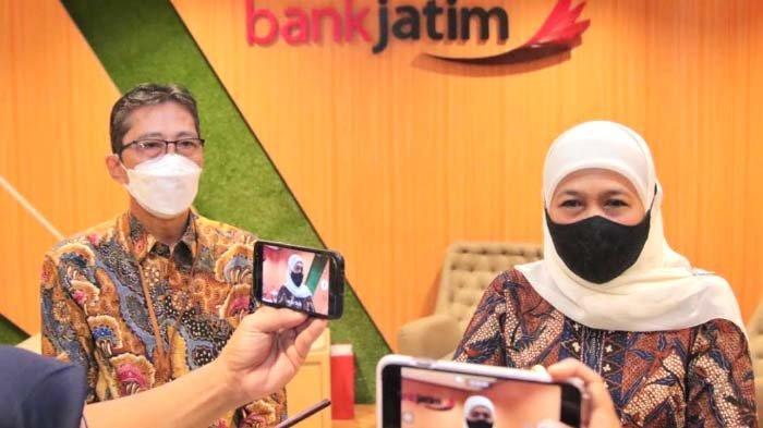 Dewan Komisaris Baru Bank Jatim Hasil RUPS Tahun Buku 2020, Khofifah Minta Tetap Support UMKM