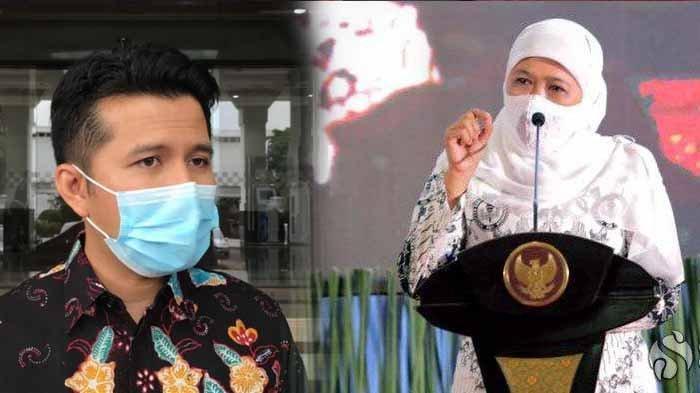 Beda dengan Wagub Emil Dardak, Gubernur Khofifah Tak Ikut Suntik Vaksin Besok, Ini Alasannya