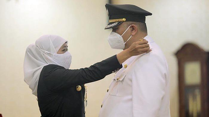 Hari Ini Gubernur Khofifah Resmi Lantik Whisnu Sakti Buana Sebagai Wali Kota Surabaya