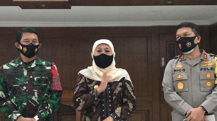 Gubernur Khofifah Tegaskan Larangan Mudik dengan Sistem Penyekatan, Nekat Pulkam Akan Dikarantina