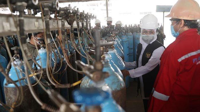 Gubernur Khofifah Ajak Seluruh RS di Jatim Proaktif Isi Oksigen ke Pabrik atau Distributor