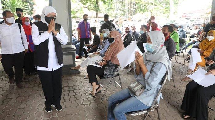 Gubernur Khofifah Apresiasi Percepatan Vaksinasi untuk Mahasiswa dan Sivitas Kampus Unej