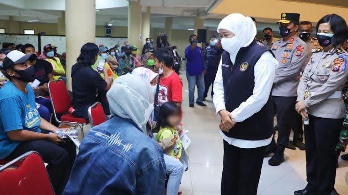 Sebanyak 3.500 Tunawisma Jatim Dapat Suntikan Vaksin Covid-19 di ACC Unair
