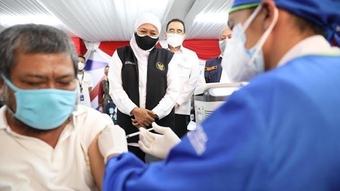 Pelaku K-UKM Hingga Ritel di Jatim Dapat Kemudahan Layanan Vaksinasi Covid-19