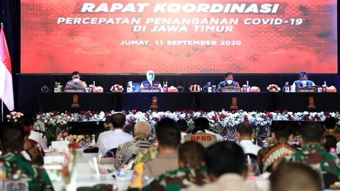 Tujuan Gubernur Khofifah Kumpulkan Seluruh Kepala Daerah di Jatim jelang Pilkada 2020