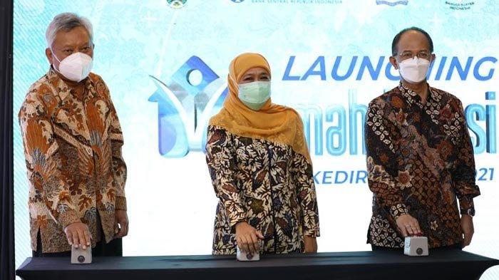 Rumah Kurasi di Jatim, Khofifah Optimistis Akan Tingkatkan Standarisasi Kualitas Ekspor Produk UMKM