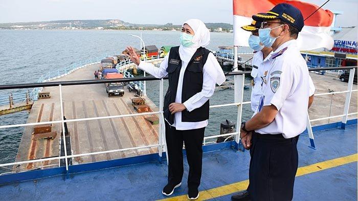 Beroperasi Penuh Tahun Ini, Gubernur Khofifah Optimis Pelabuhan Paciran Mampu Meningkatkan PAD