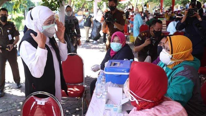 Khofifah: Mobilitas Kota Malang Masih Tinggi, Kini Upayakan Suplai Oksigen untuk Pasien Isoman