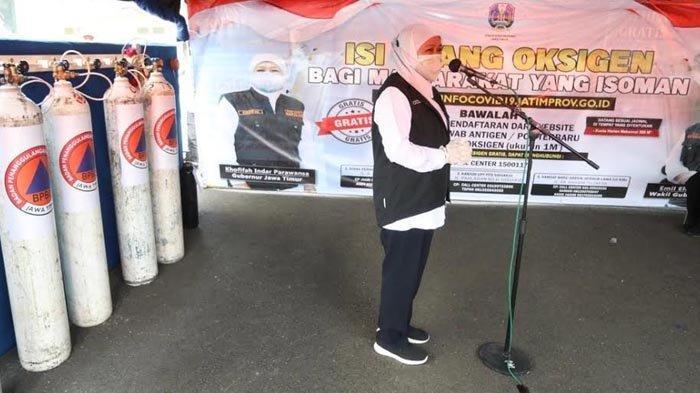 Gubernur Khofifah Tunggu Inmendagri Soal Perpanjangan PPKM Darurat di Jatim