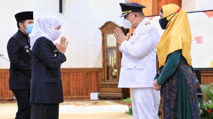 Gubernur Khofifah Resmi Lantik Whisnu Sakti Buana Jadi Walikota Surabaya Sisa Masa Jabatan 2016-2021
