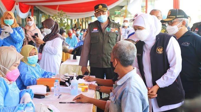 Kejar Herd Immunity, Sebanyak 39.688 Pekerja Industri Jatim Telah Tervaksin