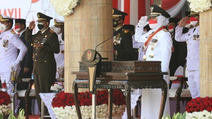 HUT Kemerdekaan RI ke-76, Gubernur Khofifah: Momentum Jatim Bangkit dan Merdeka dari Covid-19