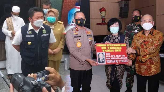 Gubernur Sumsel, Kapolda hingga Rakyat Indonesia Tertipu Hibah Covid-19 Rp 2 Triliun Anak Akidi Tio