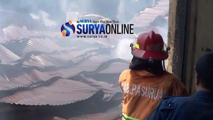 Gudang Kasur di Pasuruan Terbakar, Pemilik Sebut Kerugian Hampir Rp 1 Miliar