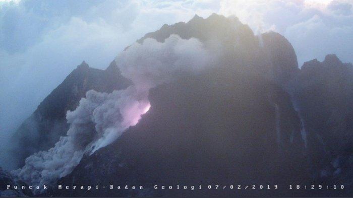 Erupsi Merapi, Dalam 12 Jam, 46 Kali Muntahkan Lava Pijar, Ini Kata Hanik