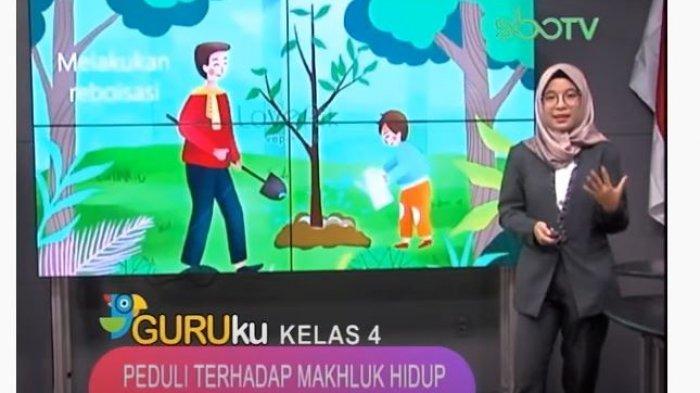 Soal Dan Jawaban Sd Kelas 4 Sbo Tv Senin 21 September 2020 Peduli Terhadap Makhluk Hidup Surya