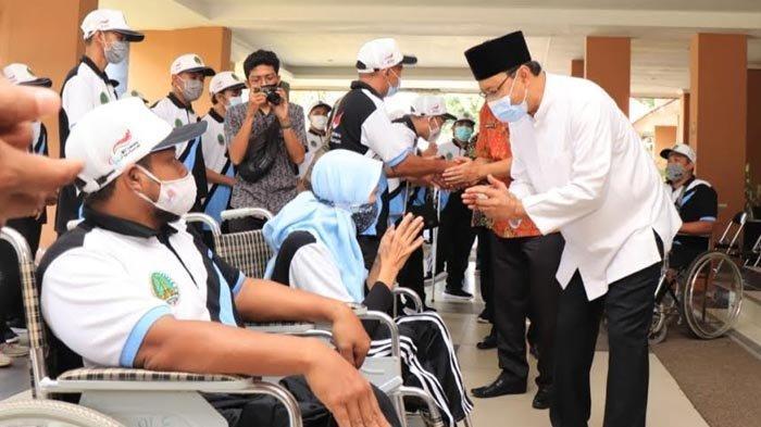 Ikut Peparprov 2021 di Surabaya, Gus Ipul Bangga Kepada Atlet Penyandang Disabilitas Kota Pasuruan