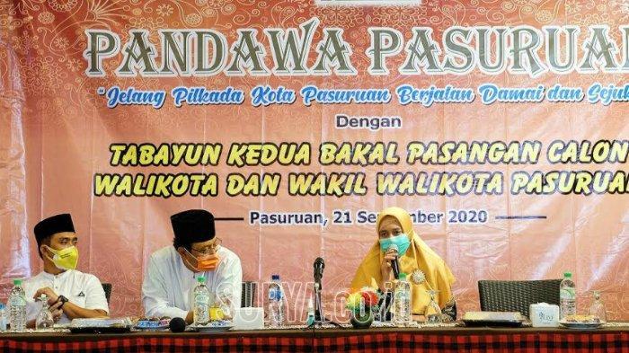 Pilwali Pasuruan 2020, Gus Ipul-Mas Adi Beberkan Riwayat Pendidikan Masing-masing