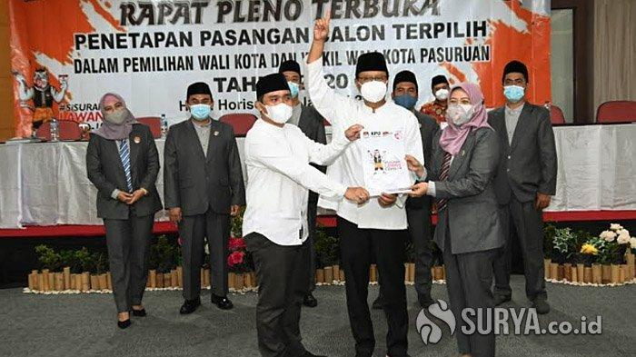 Gus Ipul-Mas Adi Resmi Ditetapkan Pimpin Kota Pasuruan, Ini Janji Awal Setelah Pelantikan