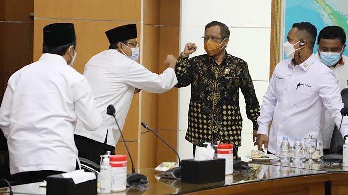 Bertemu Mahfud MD, Gus Ipul Usulkan Revitalisasi Lapas Kota Pasuruan