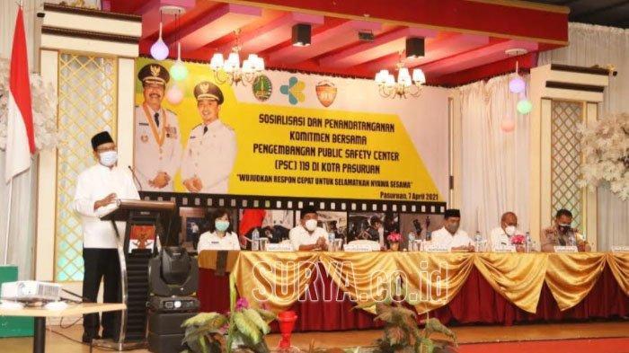 Wali Kota Pasuruan Gus Ipul Siapkan PSC 119, Respon Cepat Atasi Kedaruratan