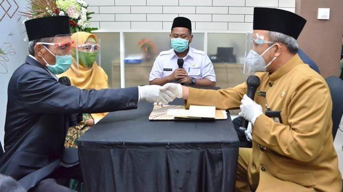Launching Mall Pelayanan Publik di Gresik, Bupati Gus Yani Langsung Jadi Saksi Warga yang Menikah